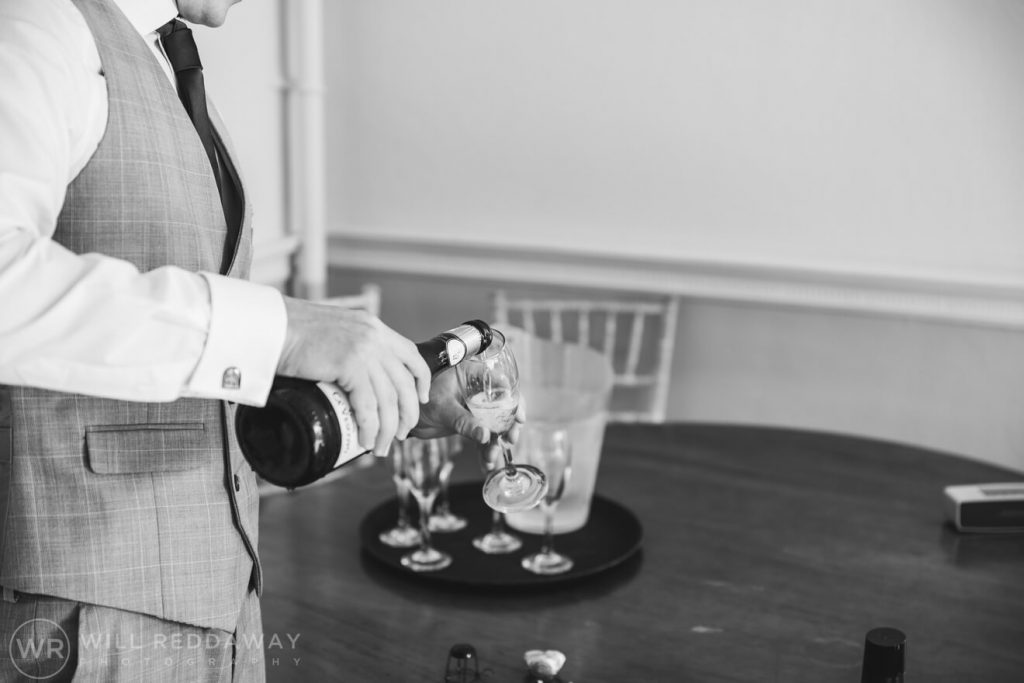 Holne Park House Wedding | Devon Wedding Photographer | Groom Preparations