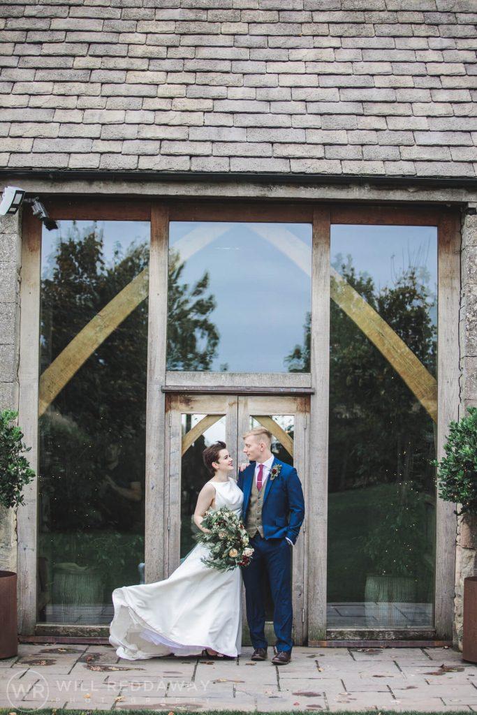 The Stone Barn Wedding   Cheltenham Wedding Photographer   Bride & Groom