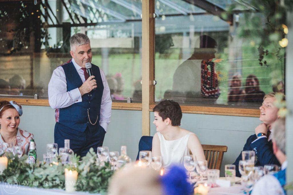 The Stone Barn Wedding   Cheltenham Wedding Photographer   Speeches