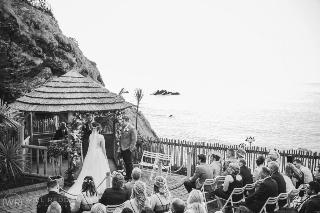 Tunnels Beaches Wedding | Devon Wedding Photographer | Ceremony