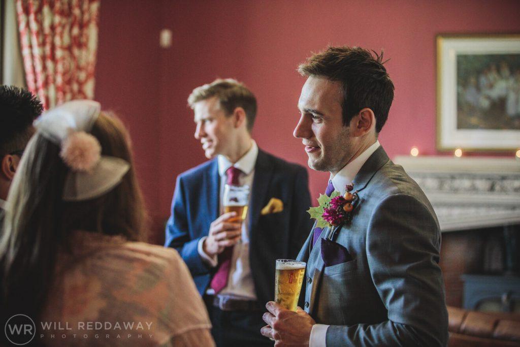 St Audries House Wedding | Devon Wedding Photographer | Groom Preparations