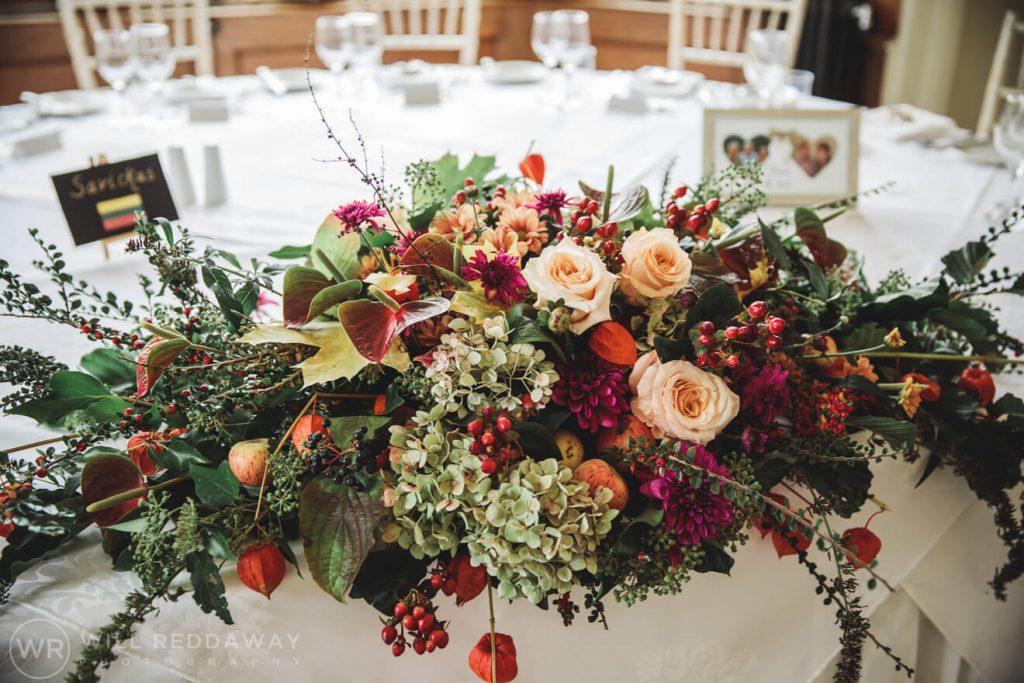 St Audries House Wedding | Devon Wedding Photographer | Decoration