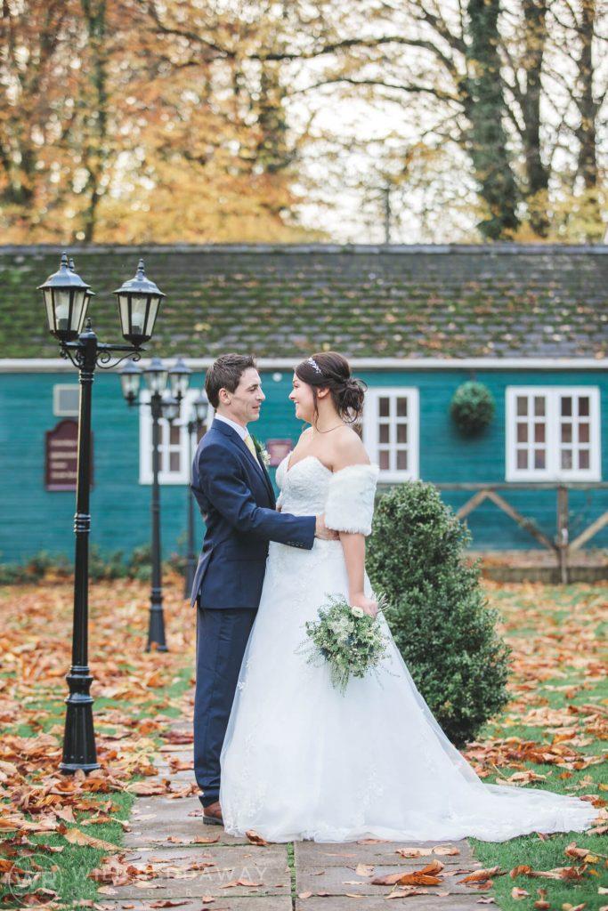 Coed-Y-Mwstwr Hotel   Cardiff Wedding Photographer   Bride & Groom