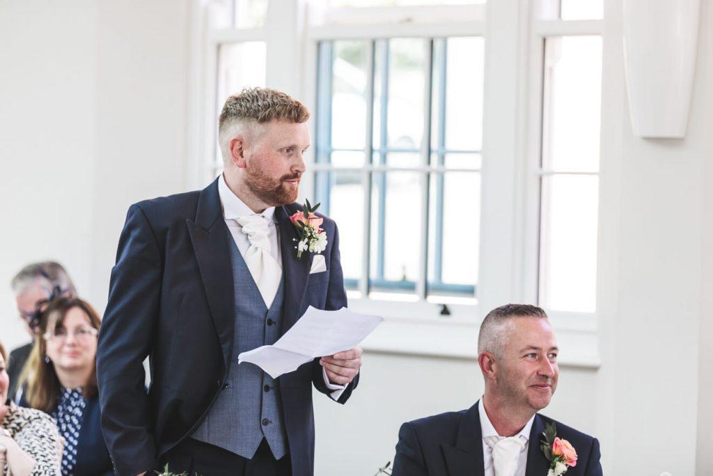 Rockbeare Manor Wedding   Devon Wedding   Speeches