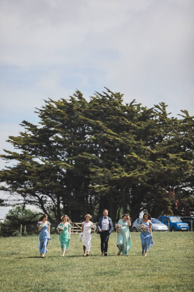 Polzeath Wedding   Cornwall Wedding Photographer   Bridal Party