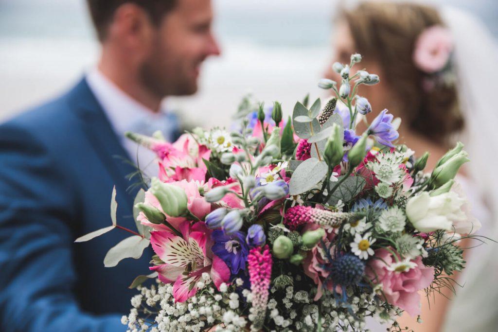 Polzeath Wedding   Cornwall Wedding Photographer   Beach Wedding
