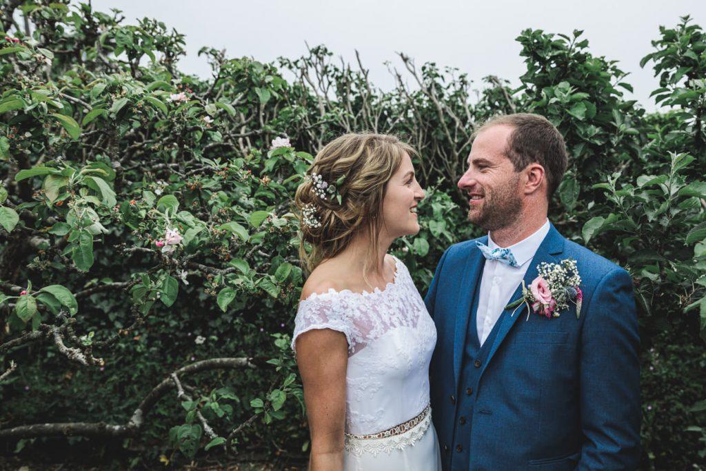 Polzeath Wedding   Cornwall Wedding Photographer   Bride & Groom