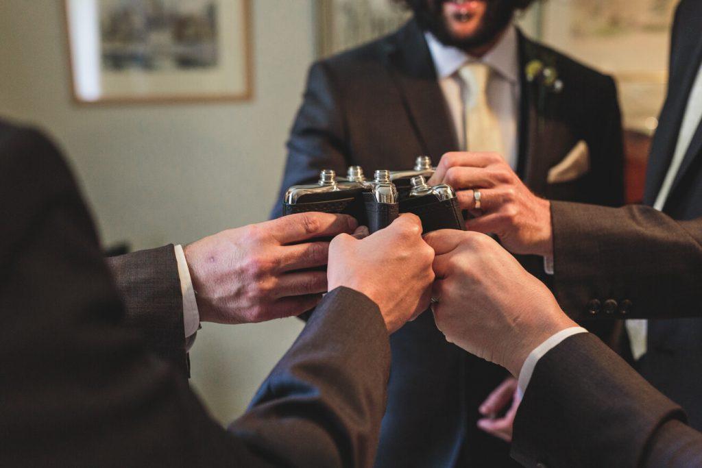 Middle Coombe Farm Wedding | Devon Wedding Photographer | Groom Preparations