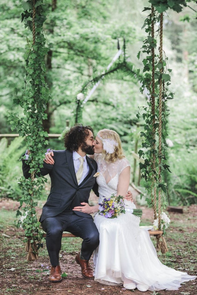 Middle Coombe Farm Wedding | Devon Wedding Photographer | Bride & Groom
