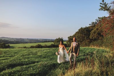 Oak Barn Wedding | Devon Wedding Photographer | Bride & Groom