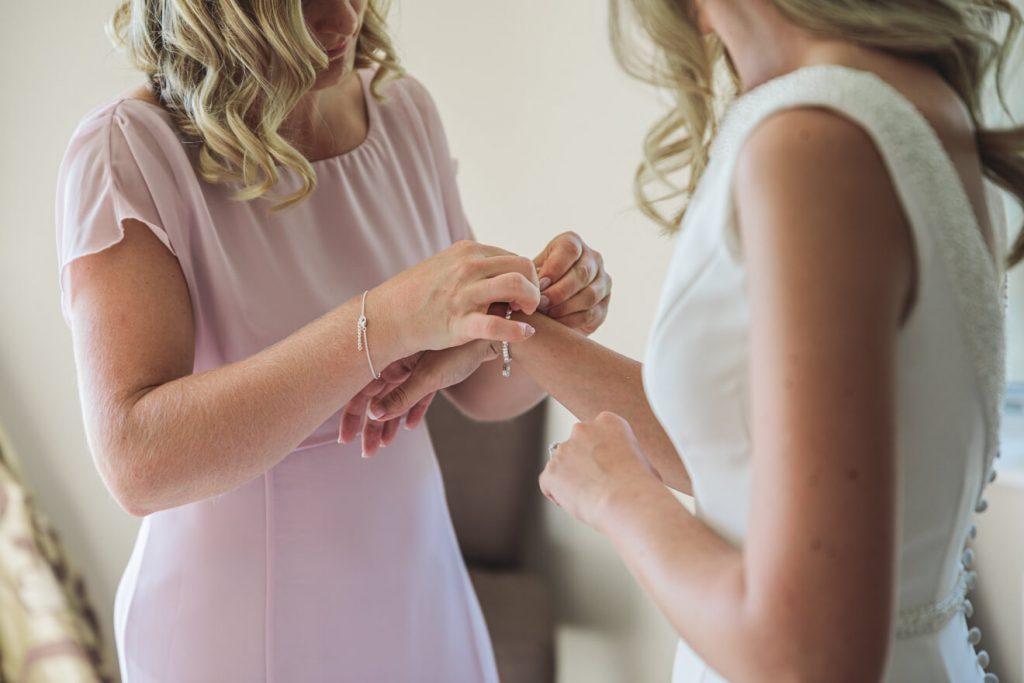 Hayley & Tom's Marquee Farm Wedding | Devon Wedding Photographer | Bridal Preparations